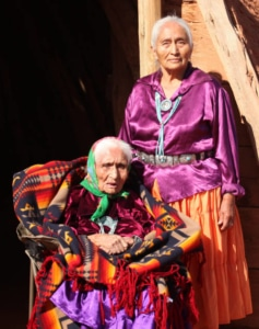 Mother & Daughter Navajo Women