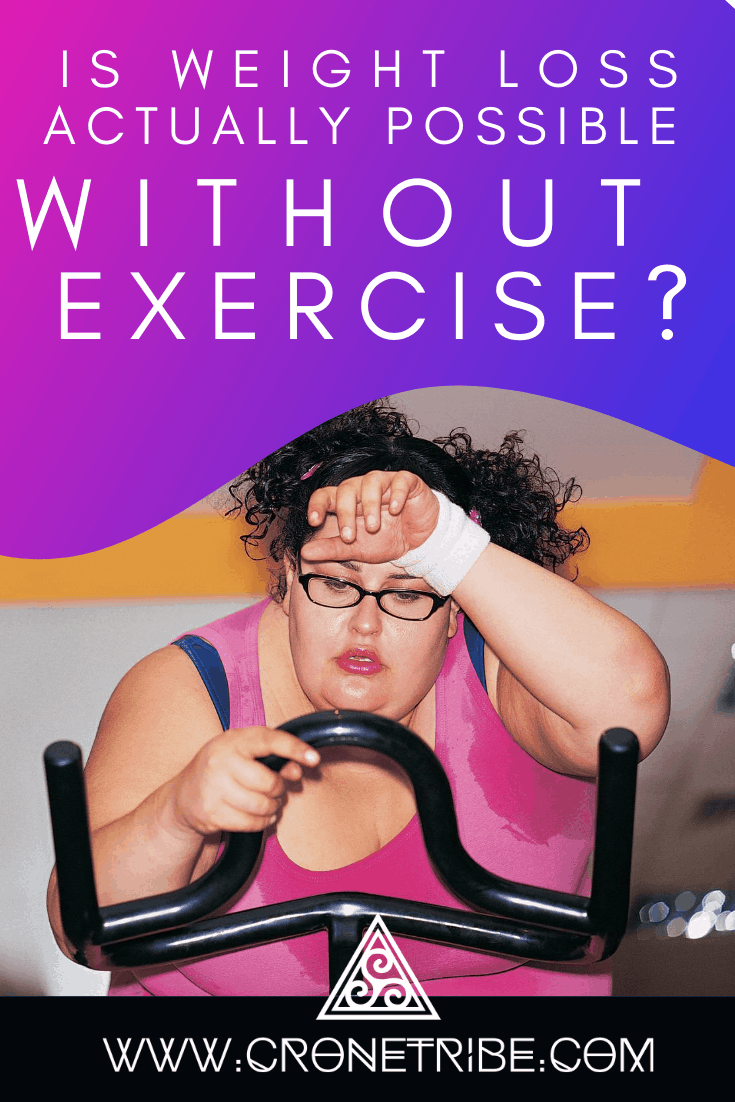 how weight loss without exercise